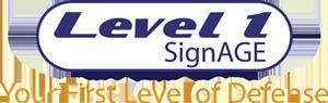 Level 1 Signage