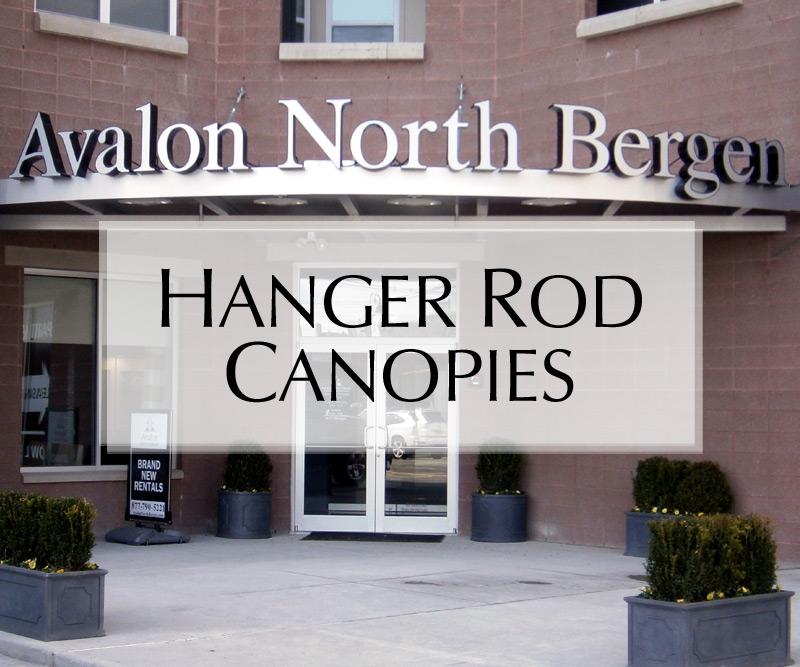 Hanger Rod Canopies