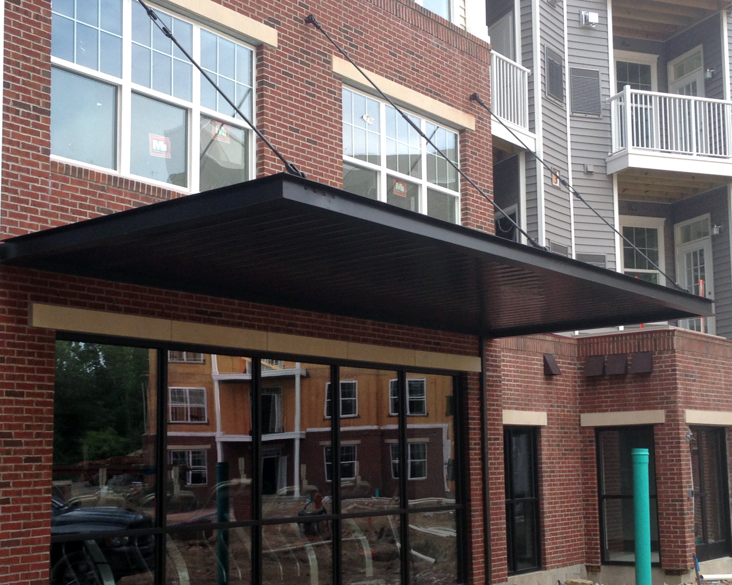 hanger rod canopies – midatlantic sign & awning